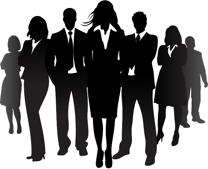 Business Silhouettes Image